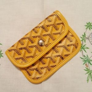 Goyard change pouch
